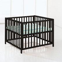 Felix Wooden PlayPen Black 1