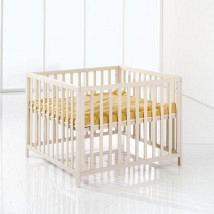 Felix Wooden PlayPen White 1