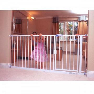 Auto Close Gate White Extension 79.2cm