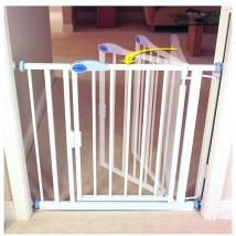 Auto Close Gate White Standard 1
