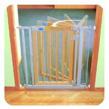 Auto Close Gate Wooden Standard 1