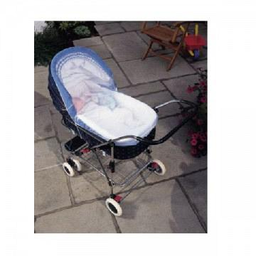 Pram And Carry Cot Insect Net Large