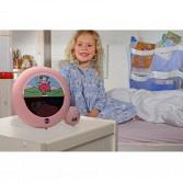 Night light and Alarm Clock Pink 2