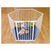 Safe and Secure Playpen White 2