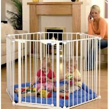 Safe and Secure Playpen White 1