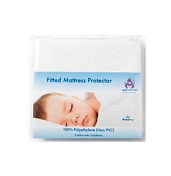 Fitted Cot Bed Mattress Protector (Non PVC) 70x140cm