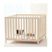 Felix Wooden PlayPen Whitewash 1