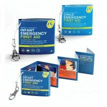 Infant and Child Emergency First Aid Guides 2 Pack 1