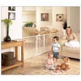 Safe and Secure Playpen White 3