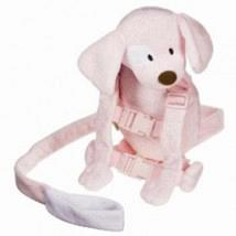 2 in 1 Harness Buddy Pink Pup 1