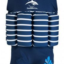 Floatsuit Navy Stripe