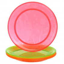 011390-5 Multi-Coloured-Feeding-Plates-Munchkin